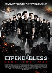 The Expendables 2 Top Ten Sylvester Stallone movies