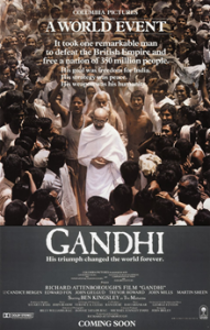 Academy Awards top ten Best Picture Oscar Winner Gandhi (1982)