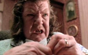 anne ramsey Throw momma from the train