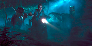 So let me get this straight: you're the leader of a biker gang/pack of velociraptors, and you don't think this is the greatest single idea we as a species has ever had? You're a hard man to impress, Mr. Pratt.