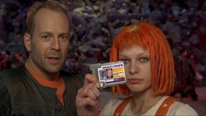OK, honey, they got the joke. Multipass. You can put it away now.