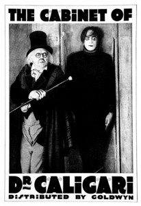 The Cabinet of Dr. Caligari - Top Ten Insane Aslyum Movies