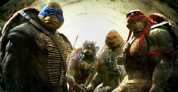 Terse Trailers: Brothers Grimbsy, Hardcore Henry,TMNT 2