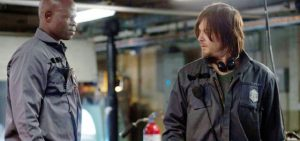 Hounsou and Reedus keep the project grounded when the plot gets a little wonky.