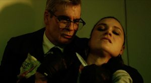 The Last Heist, Henry Rollins and Kristina Klebe