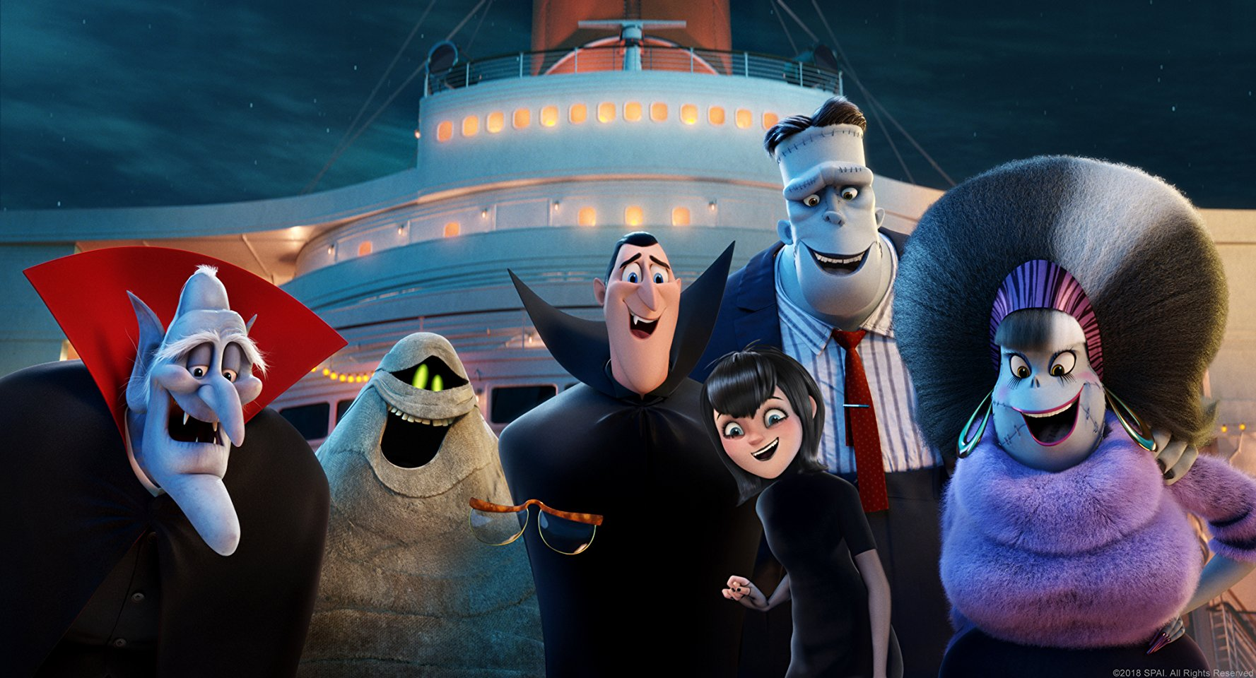 hotel transylvania movie witch undead ordered monsters cruise doctor break taking him could